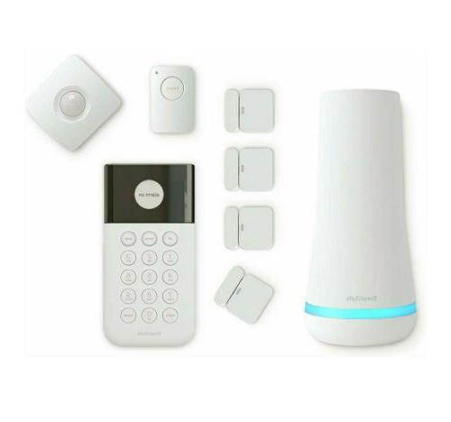 8 piece wireless home security system optional