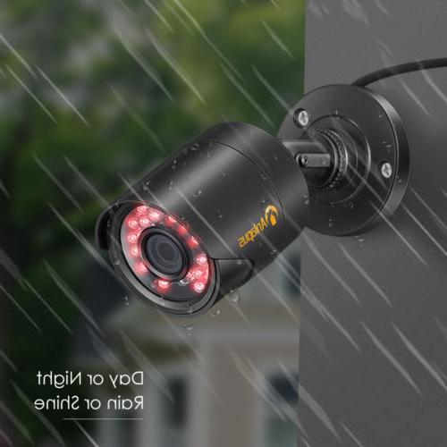 ZOSI DVR Home Security Camera 2 1080P Outdoor Cameras