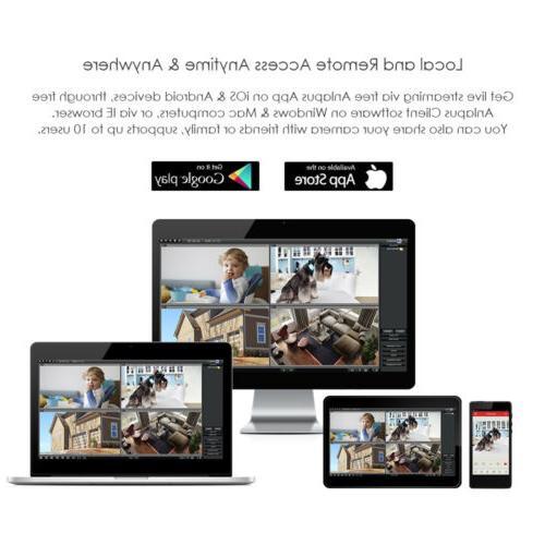 ZOSI Home Security 2 1080P Outdoor Cameras