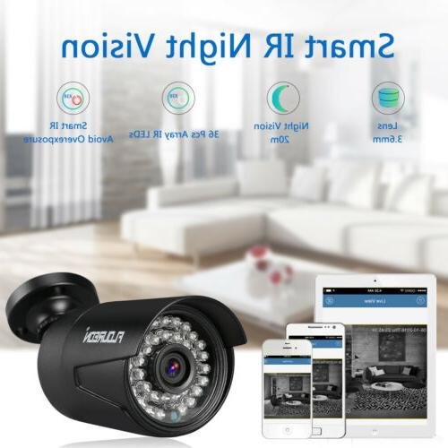 AHD DVR IR CCTV Security Camera System