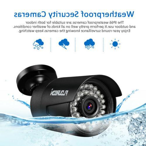 8CH System Surveillance CCTV IR