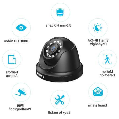 ANNKE 1080N 3000TVL Dome CCTV APP