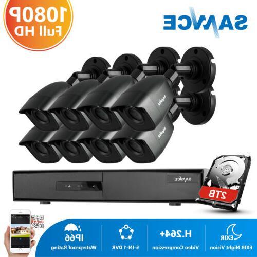 8ch 1080p hdmi dvr cctv home 3000tvl