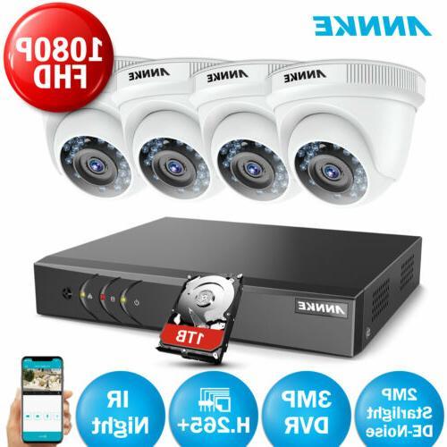 ANNKE 3MP H.264+ 1080p Starlight IR CCTV Camera