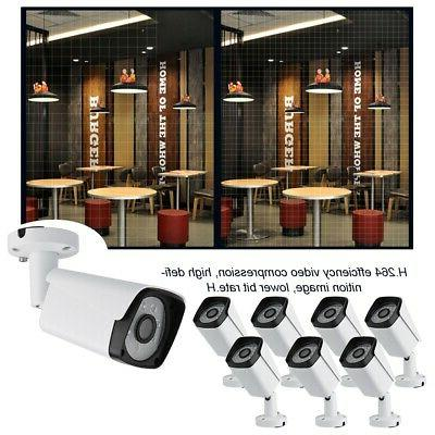8CH HD IP HD Security CCTV System