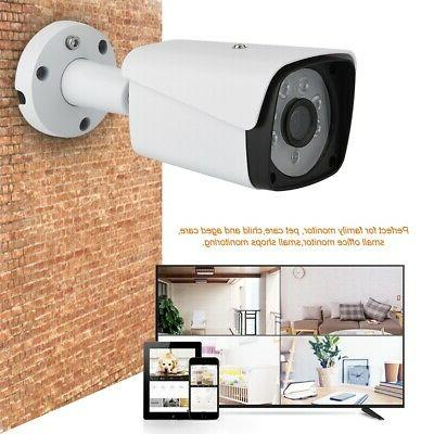 8CH AHD DVR Kit HD IP Camera Video CCTV System