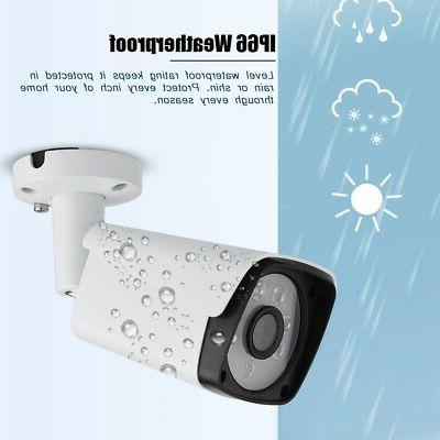 8CH AHD DVR Kit HD IP Camera HD Surveillance CCTV System