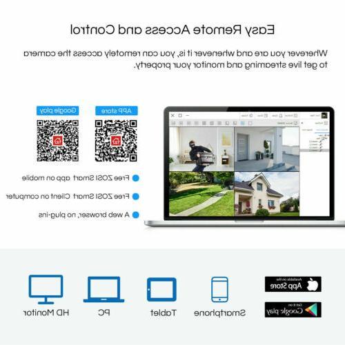 ZOSI 8CH Lite DVR 1080P Surveillance Security