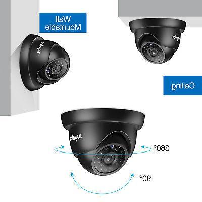 SANNCE 8CH HDMI DVR Camera System