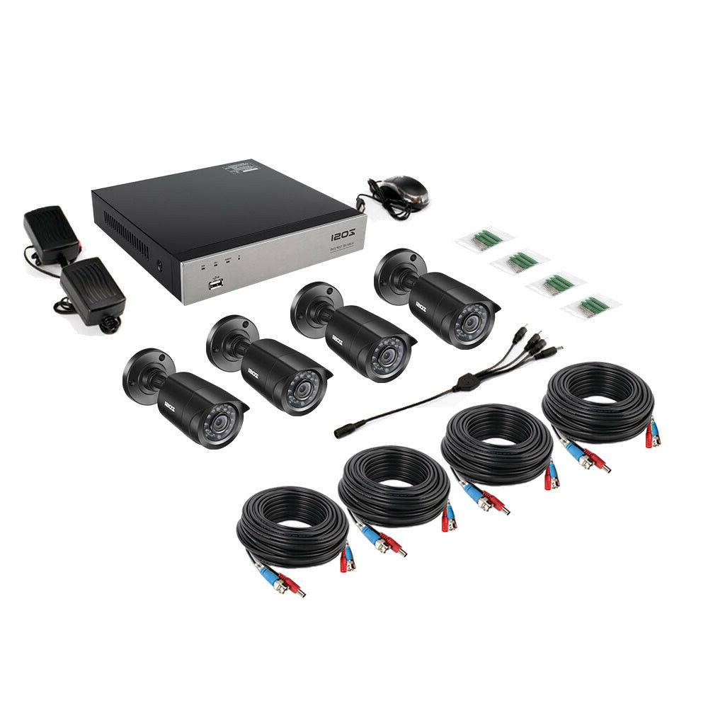 ZOSI 8CH 1080N DVR 1500TVL CCTV Home Security System Kit
