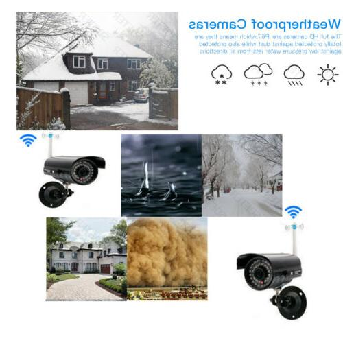 Wireless NVR WIFI Camera Motion Detection Security