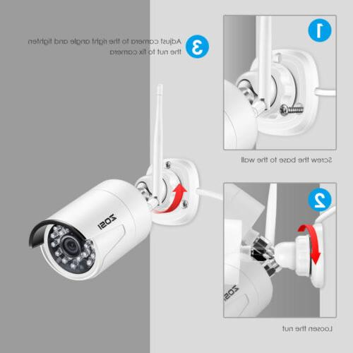 Camera WIFI 8 Channel NVR 2MP Outdoor Kit