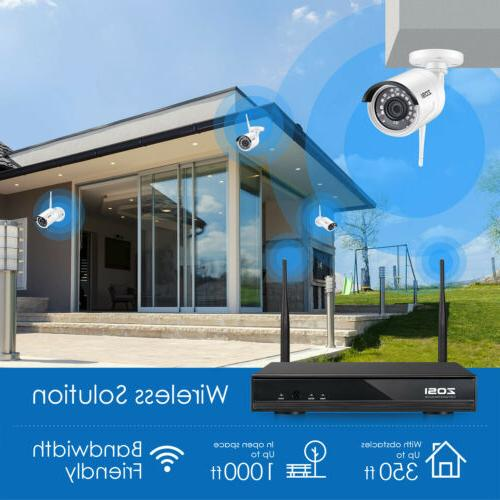 ZOSI Security IP Camera 8 Channel Outdoor Kit