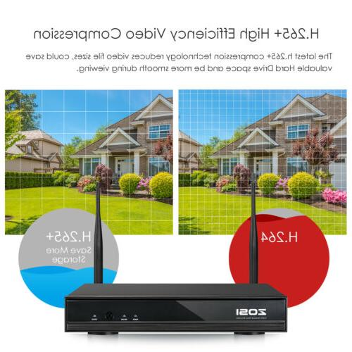 ZOSI Wireless Security Camera System 8 Outdoor Kit
