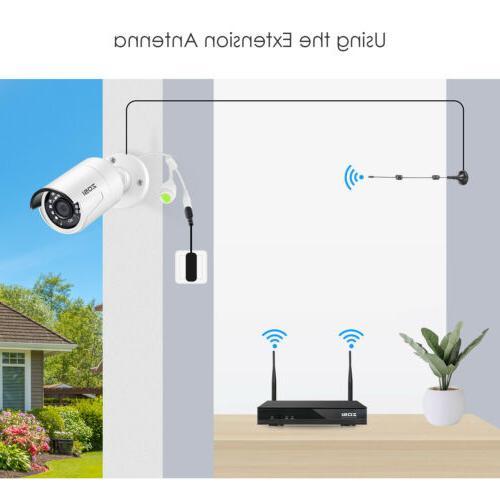 ZOSI Wireless Security Camera System 3TB Hard 8CH WIFI