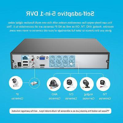ANNKE 4CH Lite 5in1 DVR System