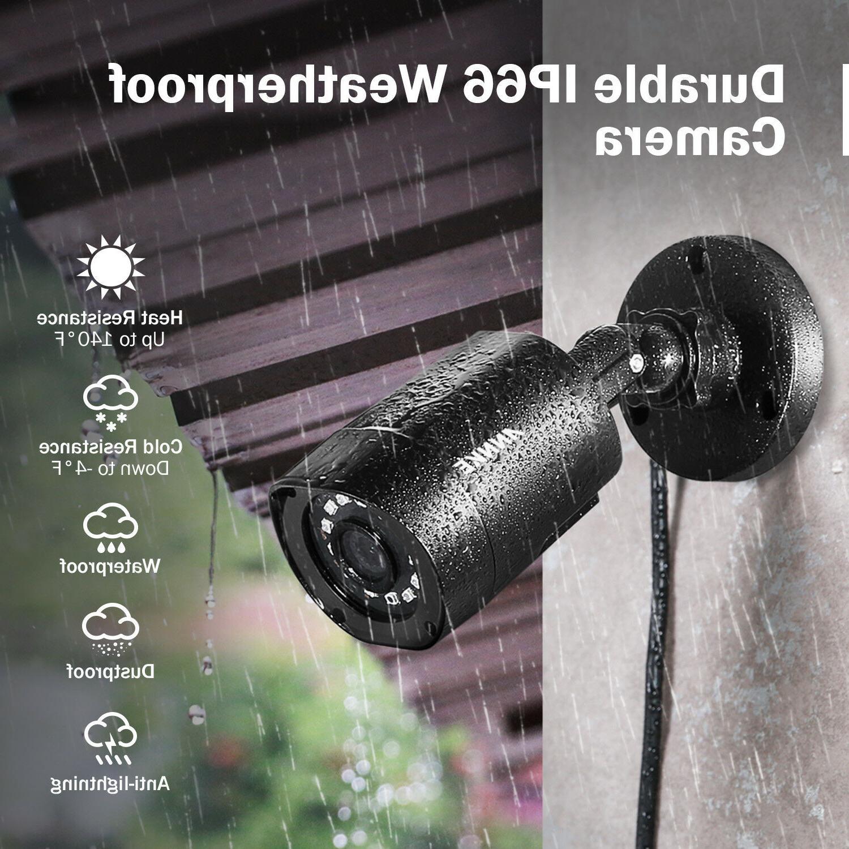 ANNKE 8CH DVR Home Security Camera System NO 1TB