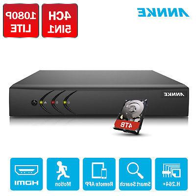 ANNKE H.264+ 4CH 1080P DVR Recorder System