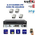 Dahua Outdoor Security System 6MP HD IR 50M IP Cameras & 8CH