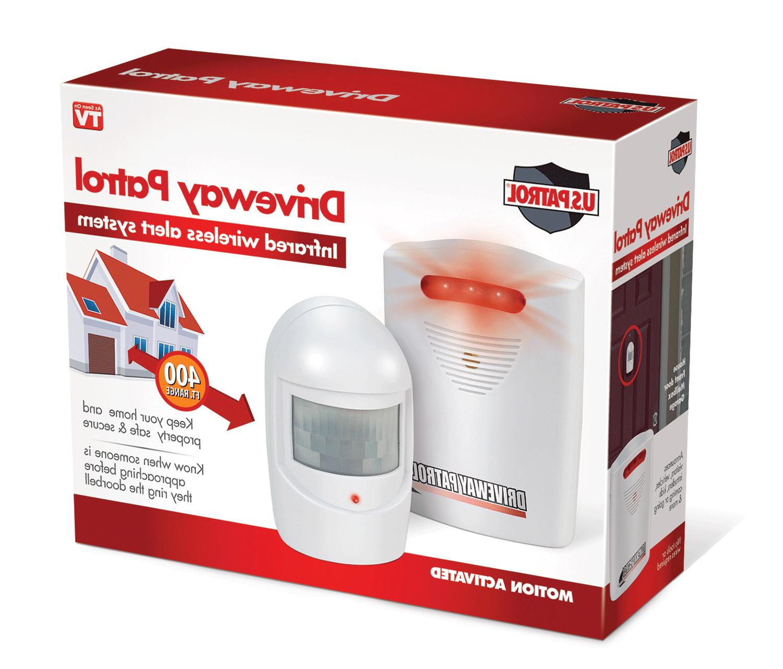 Trademark Commerce-Driveway Patrol Infrared Wireless Home Se