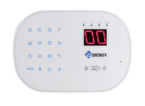 Fortress Security Store WiFi Alarm System Kit Wireless Compatible and App Controlled