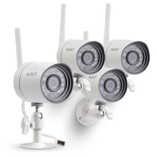 Funlux 720p Smart Security Camera System, 4x HD