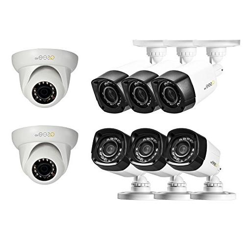 Q-See High Definition 720p QC938-8Z1-1 with 1TB Drive, Bullet Cameras, and 80'Night Vision