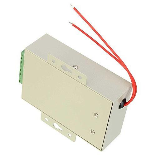 UHPPOTE AC110-240V to 12VDC 3A Power Supply Controller For Access Control /& Intercom Camera