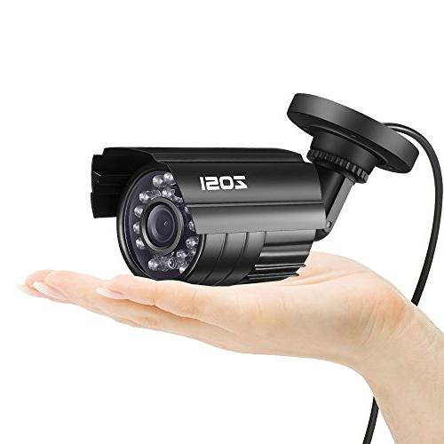 ZOSI HD-TVI Video recorder with 1280TVL Weatherproof Cameras ,Motion Easy Access
