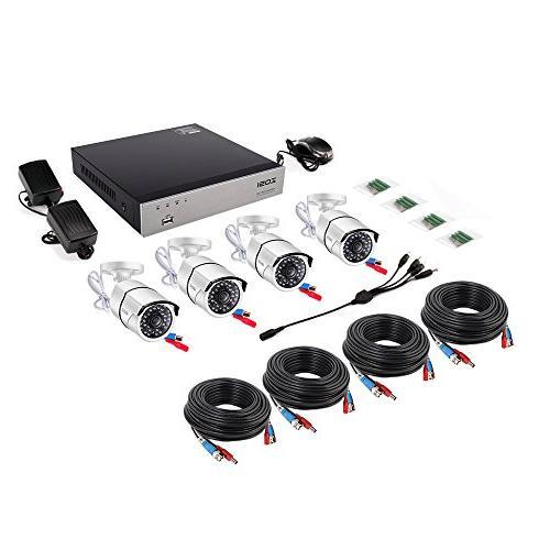 ZOSI 1080P Video Security Weatherproof