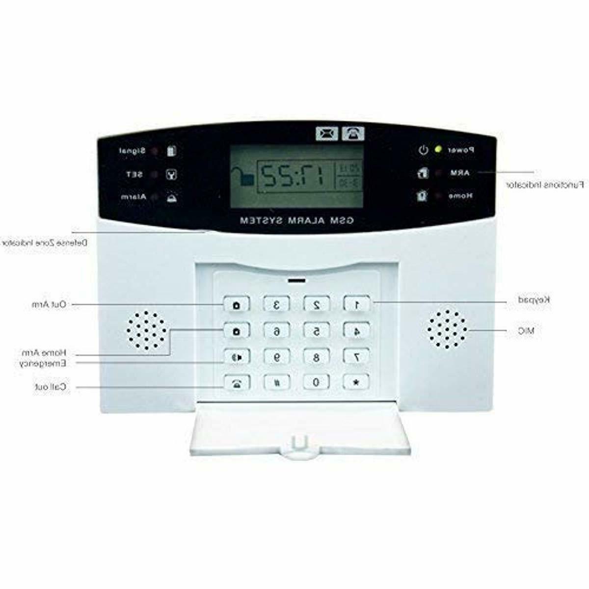 AG-security SMS Home Burglar Security Fire Alarm