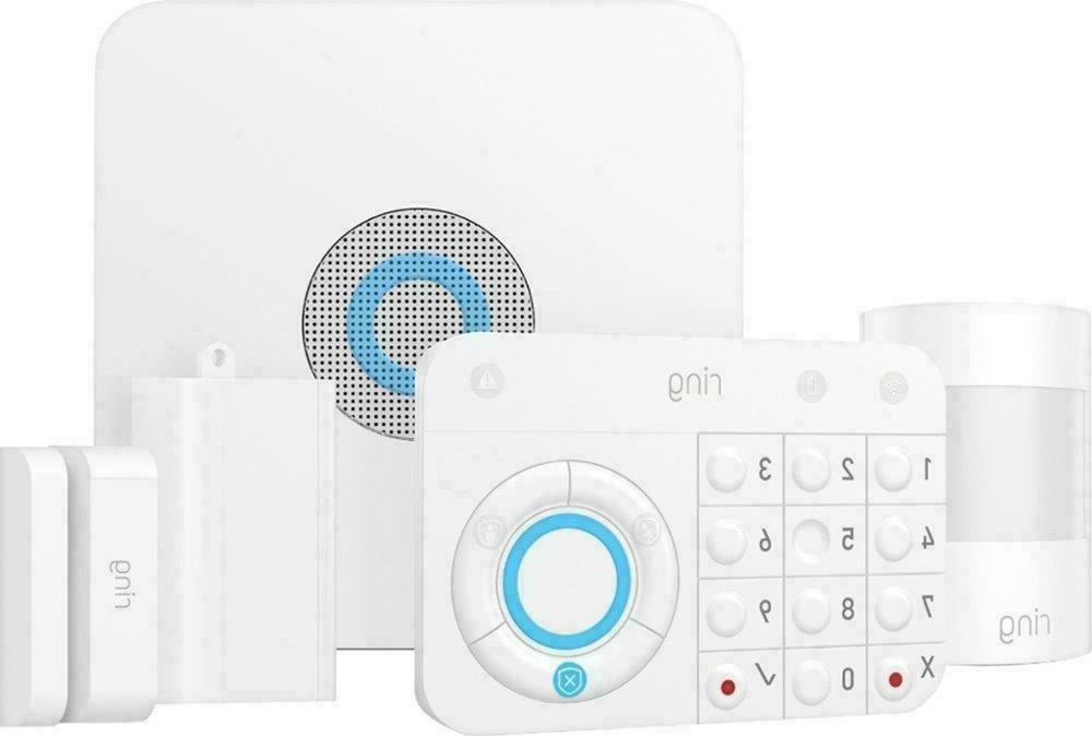 alarm home security system 5 piece starter