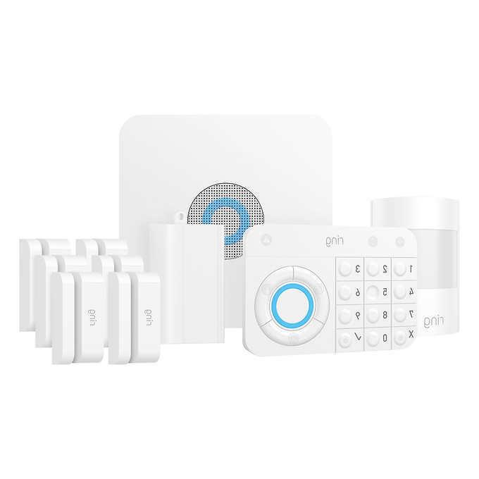 alarm wireless 10 piece security kit