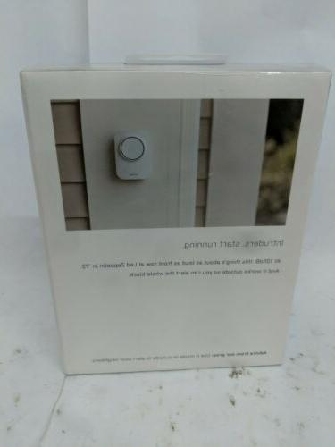 BRAND NEW Siren Security System White WS3