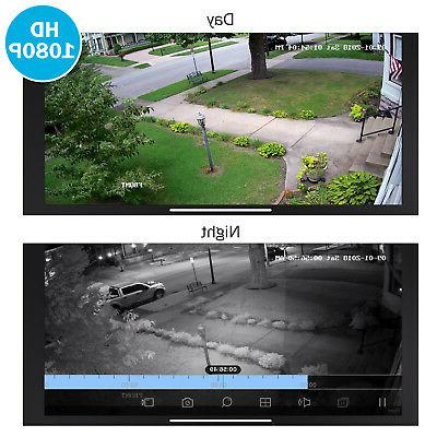 ANNKE 2MP CCTV Camera Home 8CH 1080P DVR
