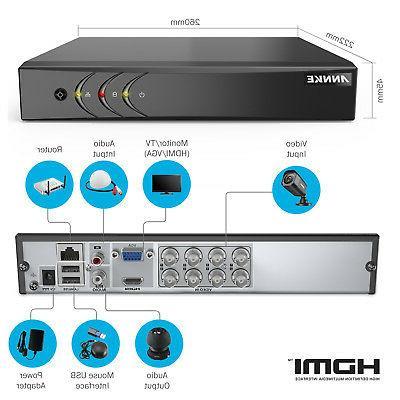 ANNKE DVR Security Camera 1TB Hard