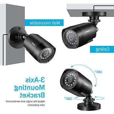 ANNKE 2MP CCTV Camera Home 8CH Lite DVR 1TB