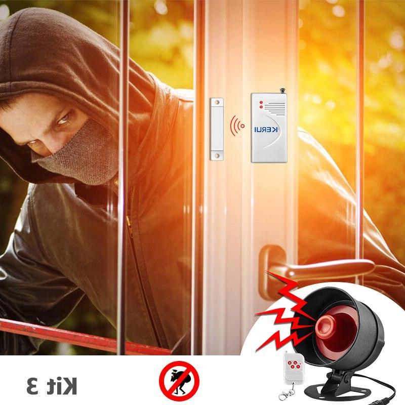 KERUI Local Home Siren Speaker Infrared