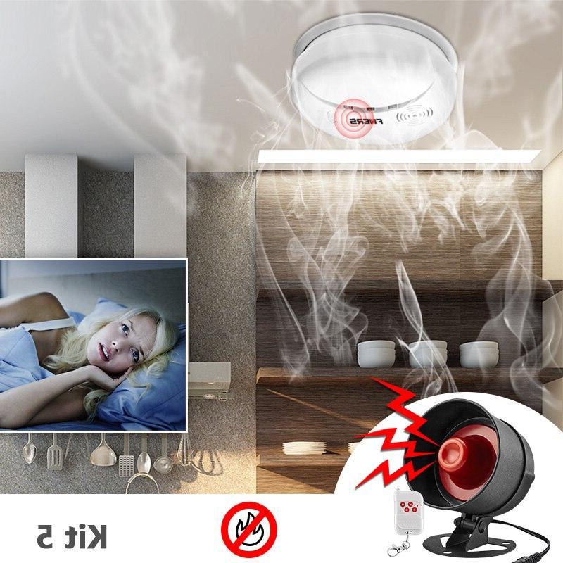 KERUI DIY Wireless Local Home Siren Speaker Infrared Door sensor Alarm