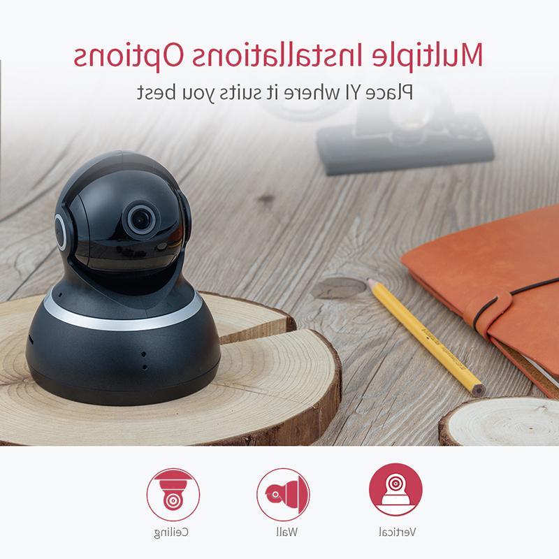 YI Camera Cam <font><b>Security</b></font> <font><b>Surveillance</b></font> 360 Vision