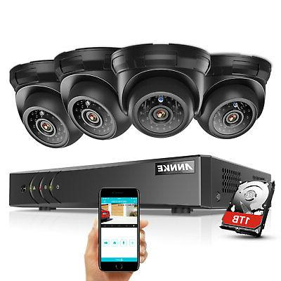 ANNKE Channel Security Camera System 1TB Hard