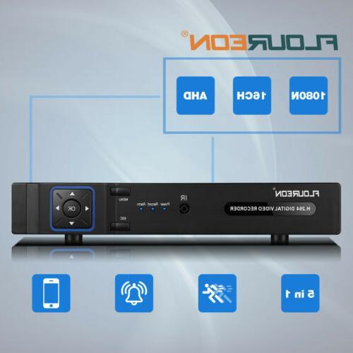 8Channel DVR 5-In-1 Hybrid Recorder 1500TVL Home System Kit