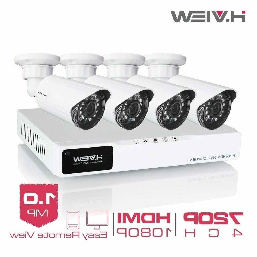 H.View surveillance 4CH system
