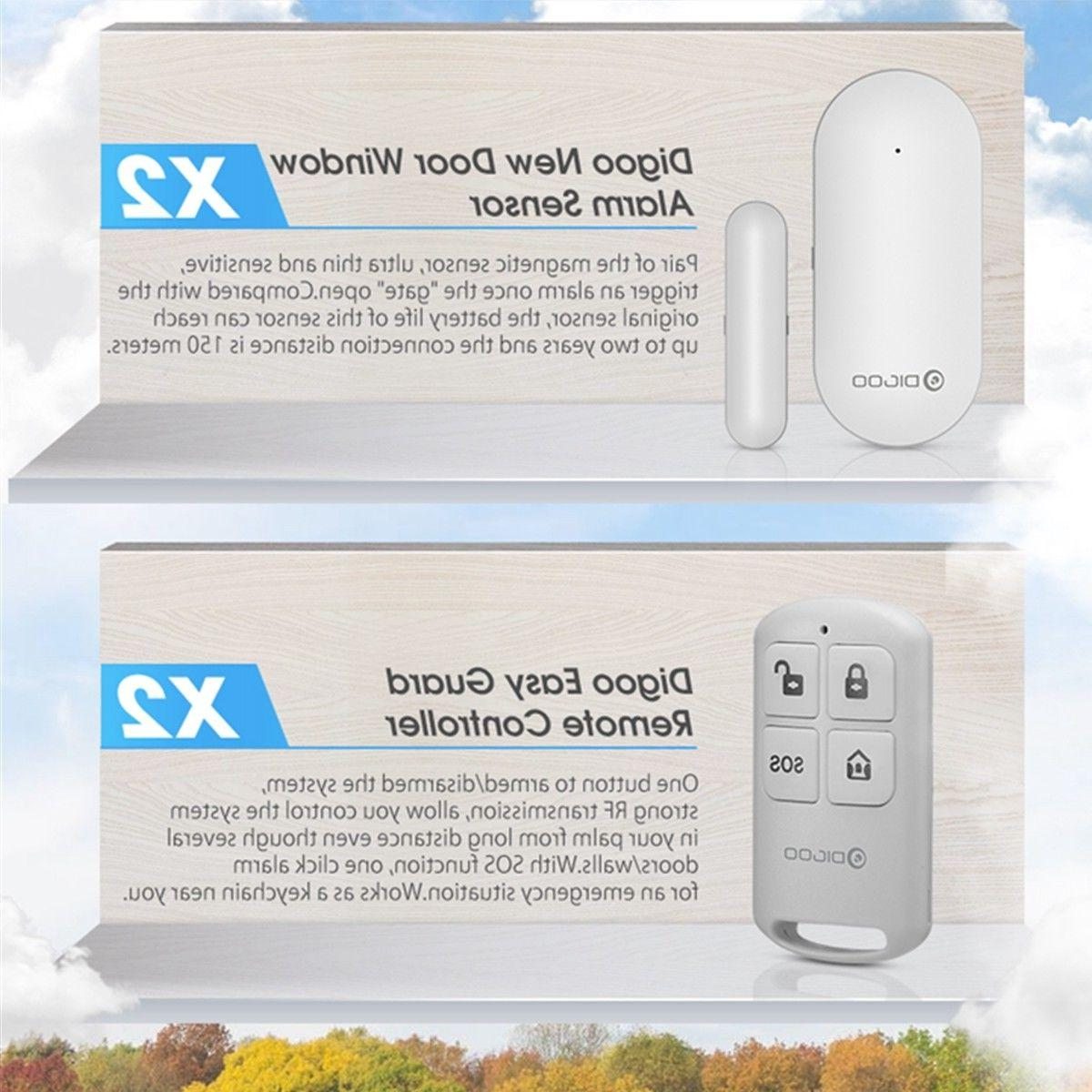 Digoo Touch Screen GSM + Home System Kit