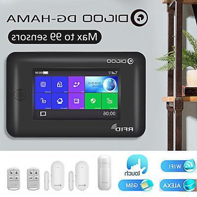 hama touch screen gsm wifi smart home