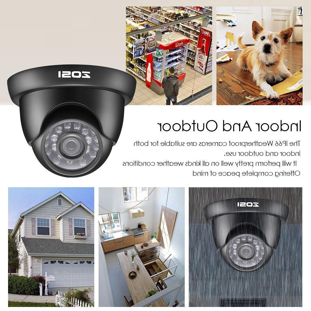 ZOSI HD 8CH 5MP IR CCTV Security Camera System