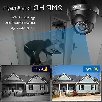 ZOSI HDMI IR Outdoor Camera System