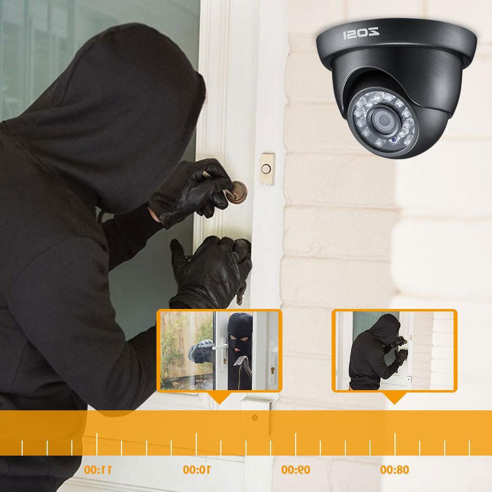 ZOSI HD HDMI DVR 1500TVL IR Outdoor CCTV Home Camera System