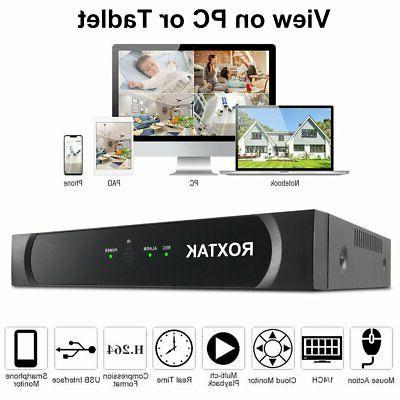 8CH 1080P Surveillance Outdoor Video Kits q3