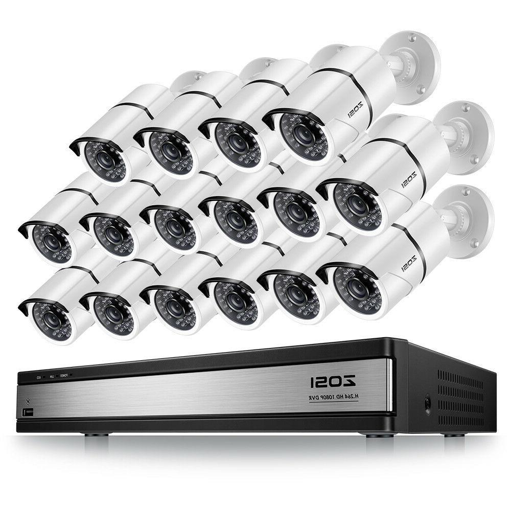 ZOSI 2MP Camera System 16CH